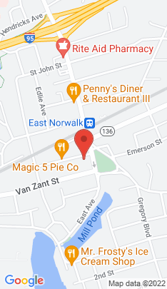 Map of Single Family Home on 30 Rowan Street,Norwalk, CT