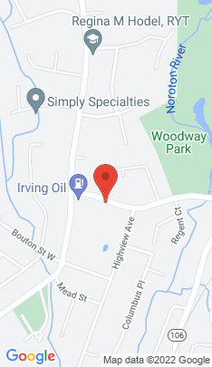 Map of Condo Home on 35 Woodway Road,Stamford, CT