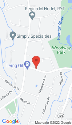Map of Single Family Home on 38 Woodway Road,Stamford, CT