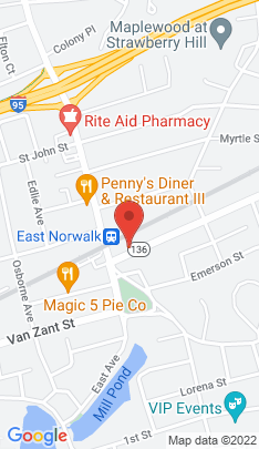 Map of Residential Property on 7 Winfield Street,Norwalk, CT