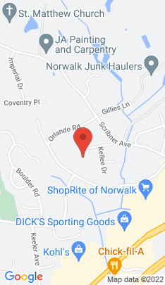 Map of Condo Home on 16 Donna Drive,Norwalk, CT