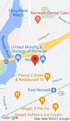 Map of Multi Family Home on 17 Saint John Street,Norwalk, CT