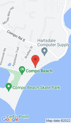Map of Luxury Single Family Home on 15 Soundview Drive,Westport, CT
