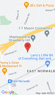Map of Single Family Home on 47 Raymond Terrace,Norwalk, CT