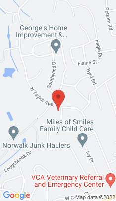 Map of Single Family Home on 41 Nash Place,Norwalk, CT