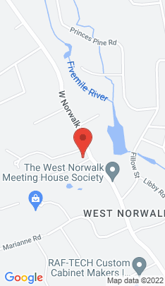 Map of Single Family Home on 2 Rising Road,Norwalk, CT