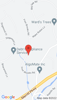 Map of Single Family Home on 127 Four Brooks Road,Stamford, CT