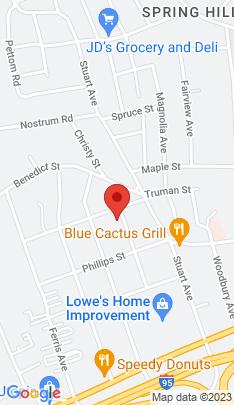 Map of Single Family Home on 33 Hyatt Avenue,Norwalk, CT