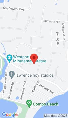 Map of Luxury Mansion on 2 Hidden Hill Road,Westport, CT