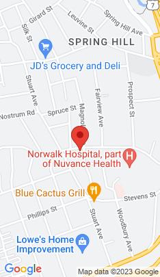 Map of Multi Family Home on 68 Maple Street,Norwalk, CT