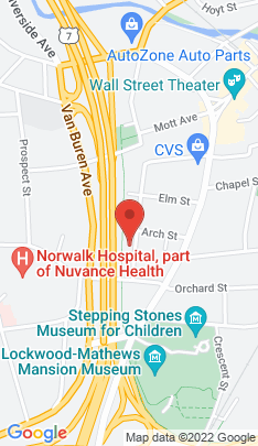 Map of Condo Home on 15 Arch Street,Norwalk, CT