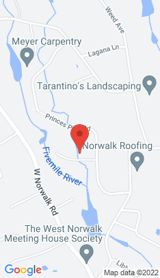 Map of Single Family Home on 6 Alewives Road,Norwalk, CT