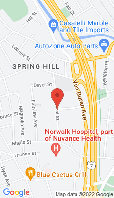 Map of Condo Home on 21 Prospect Avenue,Norwalk, CT