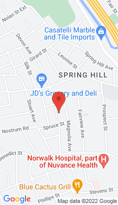 Map of Multi Family Home on 25 Coldspring Street,Norwalk, CT
