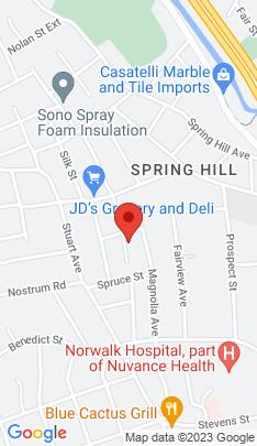 Map of Multi Family Home on 21 Coldspring Street,Norwalk, CT