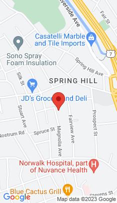 Map of single family home on 88 Magnolia Avenue,Norwalk, CT