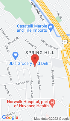 Map of Condo Home on 14 1/2 Fairview Avenue,Norwalk, CT