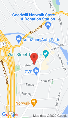 Map of Multi Family Home on 1 Mott Avenue,Norwalk, CT