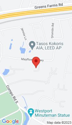 Map of Single Family Home on 4 Mayfair Lane,Westport, CT