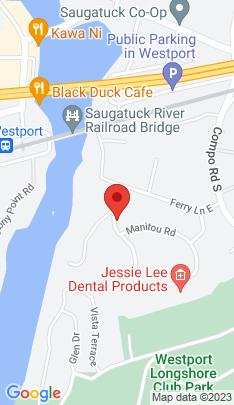 Map of Mansion on 11 Manitou Road,Westport, CT