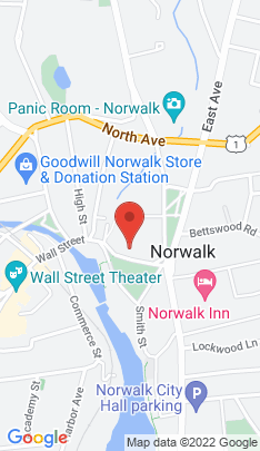 Map of Residential Property on 3 East Wall Street,Norwalk, CT