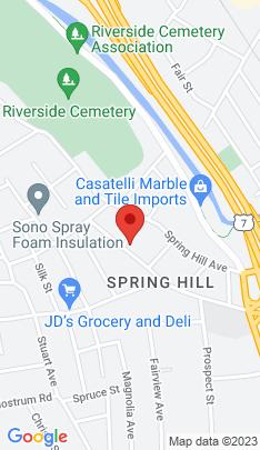 Map of Single Family Home on 19 Leuvine Street,Norwalk, CT