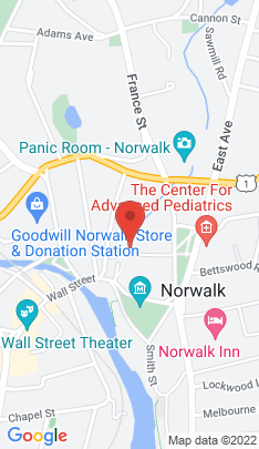 Map of Condo Home on 9 Park Street,Norwalk, CT