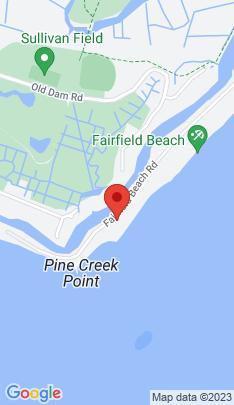 Map of single family home on 1987 Fairfield Beach Road,Fairfield, CT