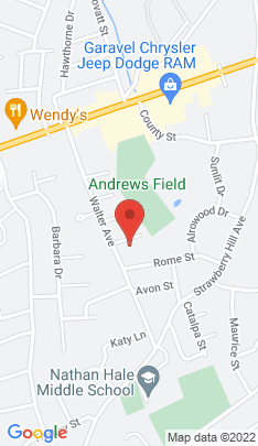 Map of Single Family Home on 6 Caesar Street,Norwalk, CT