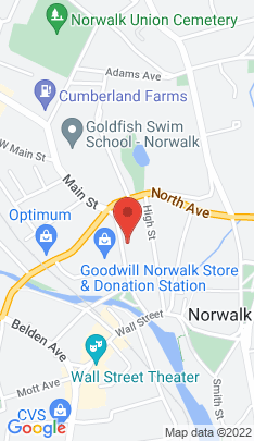 Map of Residential Property on 70 Main Street,Norwalk, CT