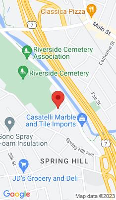 Map of Multi Family Home on 17 Hill Street,Norwalk, CT