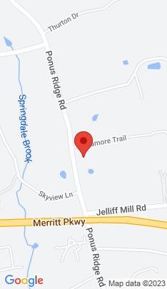 Map of Single Family Home on 231 Ponus Ridge,New Canaan, CT