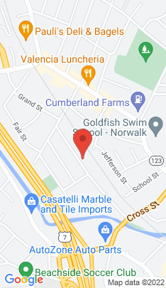 Map of Multi Family Home on 44 Wilton Avenue,Norwalk, CT