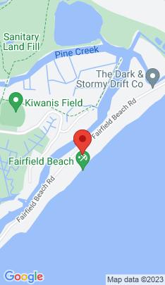 Map of Single Family Home on 1699 Fairfield Beach Road,Fairfield, CT