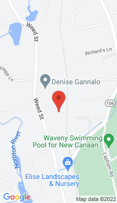 Map of Single Family Home on 131 Weed Street,New Canaan, CT