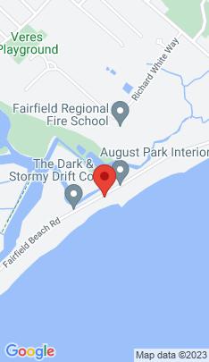 Map of Single Family Home on 1289 Fairfield Beach Road,Fairfield, CT