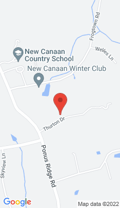 Map of Luxury Single Family Home on 50 Thurton Drive,New Canaan, CT