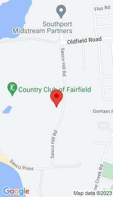 Map of Luxury Mansion on 828 Sasco Hill Road,Fairfield, CT