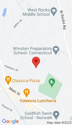 Map of Multi Family Home on 40 Center Avenue,Norwalk, CT