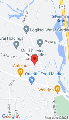Map of Single Family Home on 6 Harris Street,Norwalk, CT