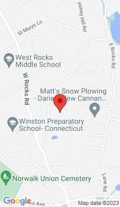 Map of Single Family Home on 43 Homer Street,Norwalk, CT