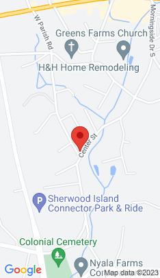 Map of Multi Family Home on 73 Parish Road,Westport, CT