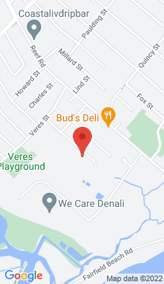 Map of single family home on 182 Longdean Road,Fairfield, CT