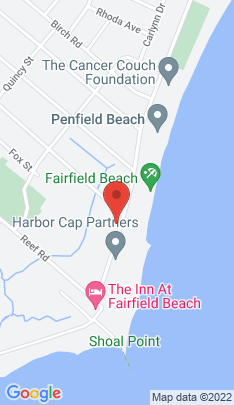 Map of Residential Property on 560 Fairfield Beach Road,Fairfield, CT