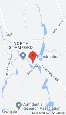 Map of Single Family Home on 2020 Long Ridge Road,Stamford, CT