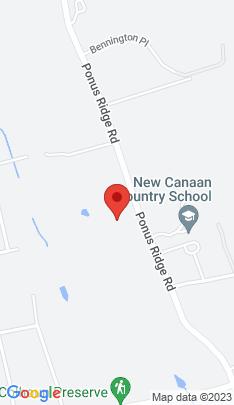 Map of Single Family Home on 576 Ponus Ridge,New Canaan, CT
