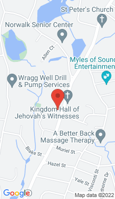 Map of Single Family Home on 119.5 Newtown Avenue,Norwalk, CT
