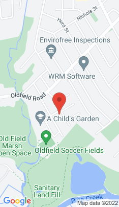 Map of Single Family Home on 110 Oldfield Drive,Fairfield, CT