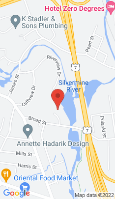 Map of Single Family Home on 8 Mallard Road,Norwalk, CT