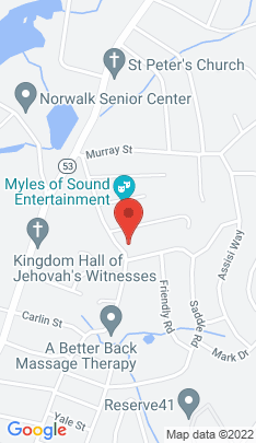 Map of Single Family Home on 136 Dry Hill Road,Norwalk, CT